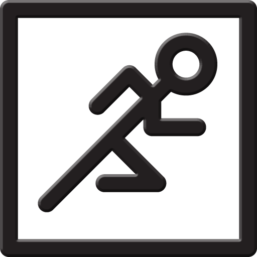 Slide Runner Icon